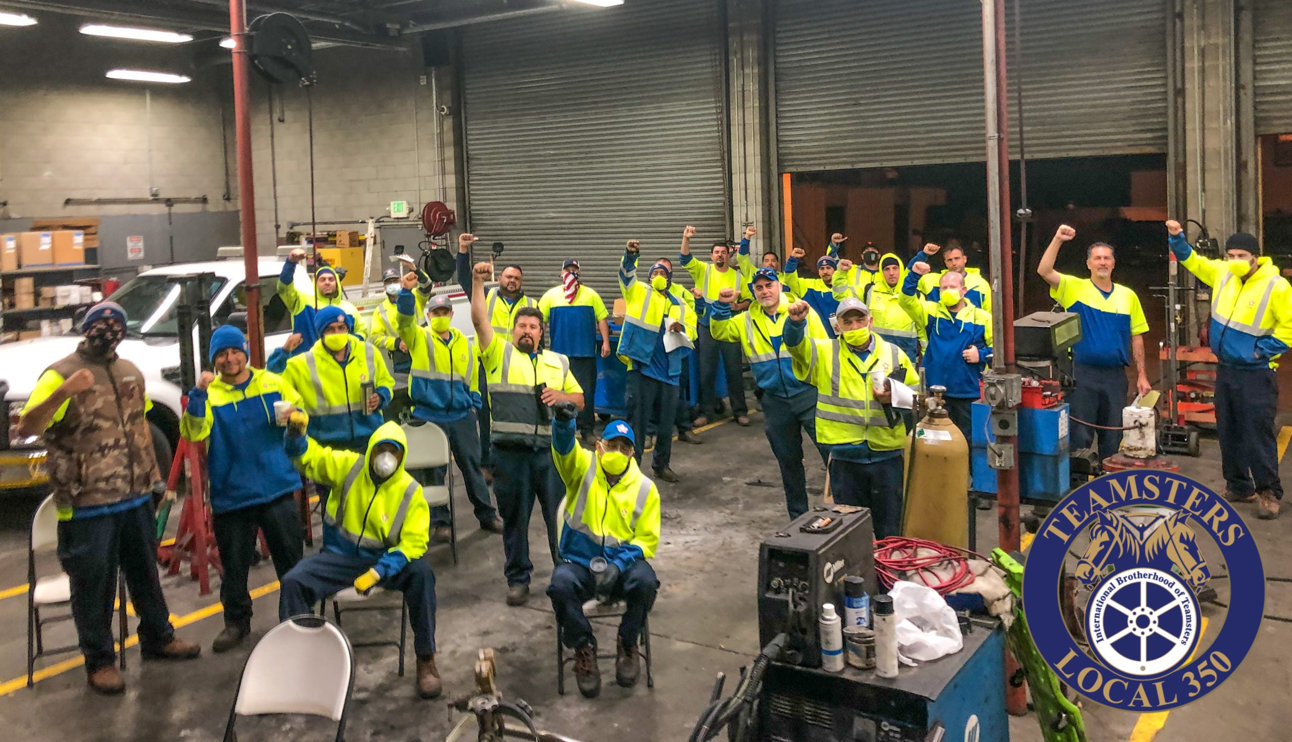 republic services workers unanimously approve new agreement in daly city international brotherhood of teamsters republic services workers unanimously