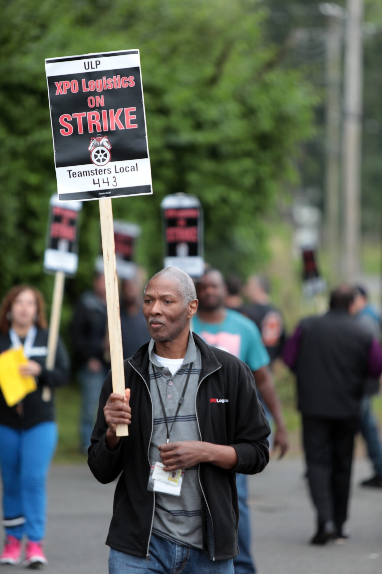 XPO logistics strike, Local 443, May, 2019