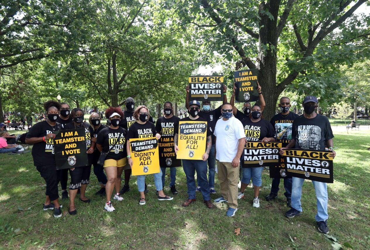 Black Lives Matter, BLM, March on Washington, DC, August, 2020
