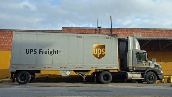 UPSFreighttruck