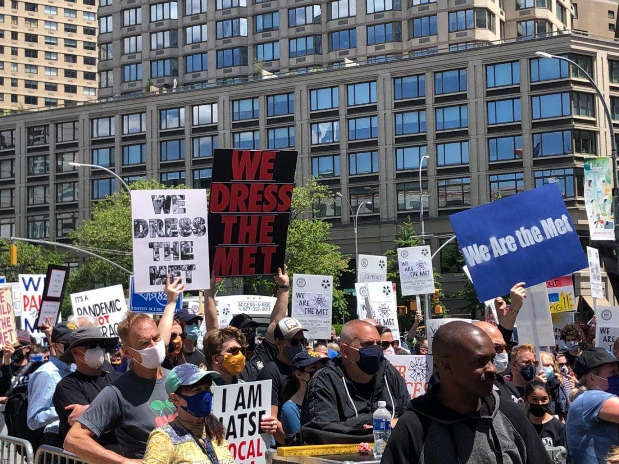 WeAreTheMetProtest