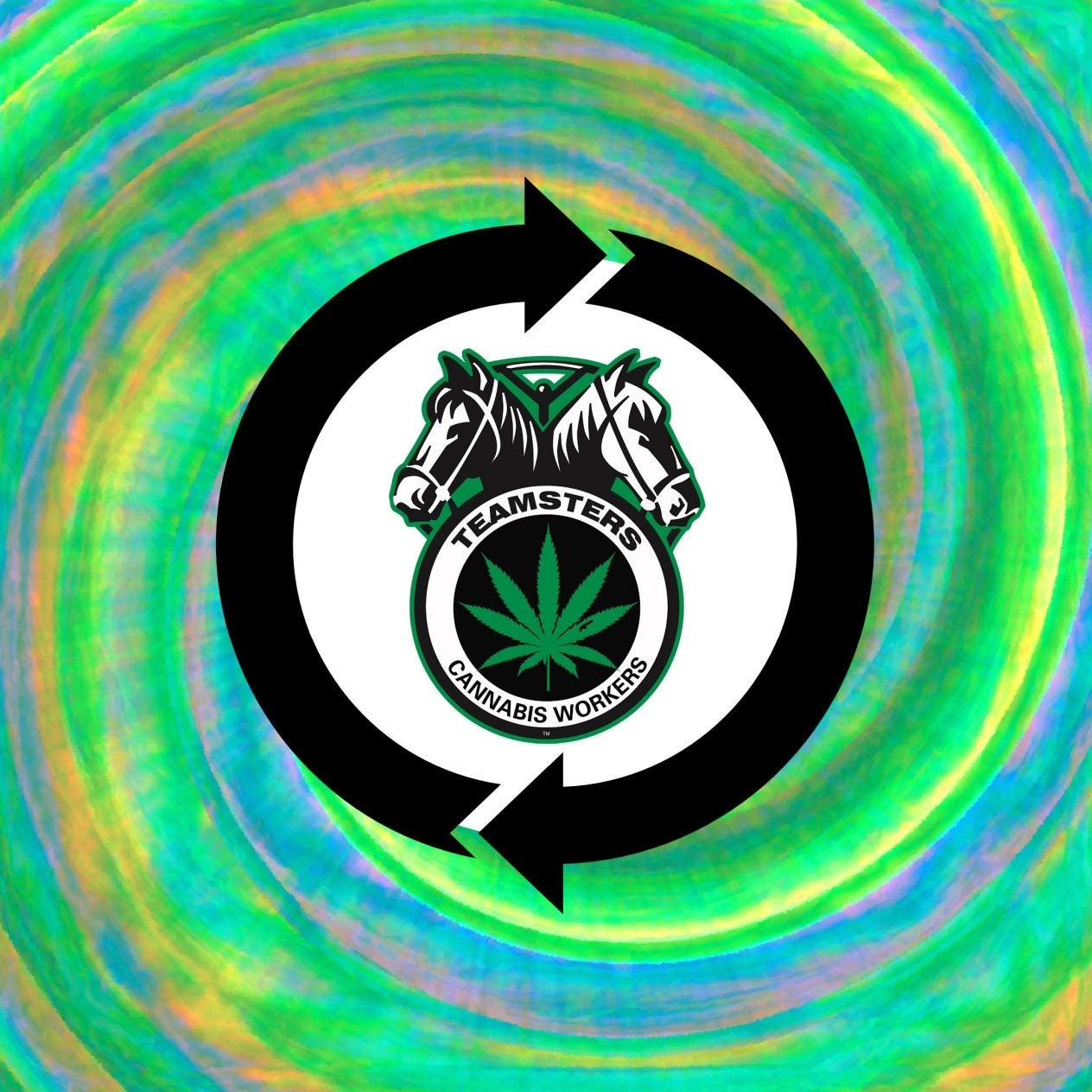 Teamsters Cannabis Tie Dye