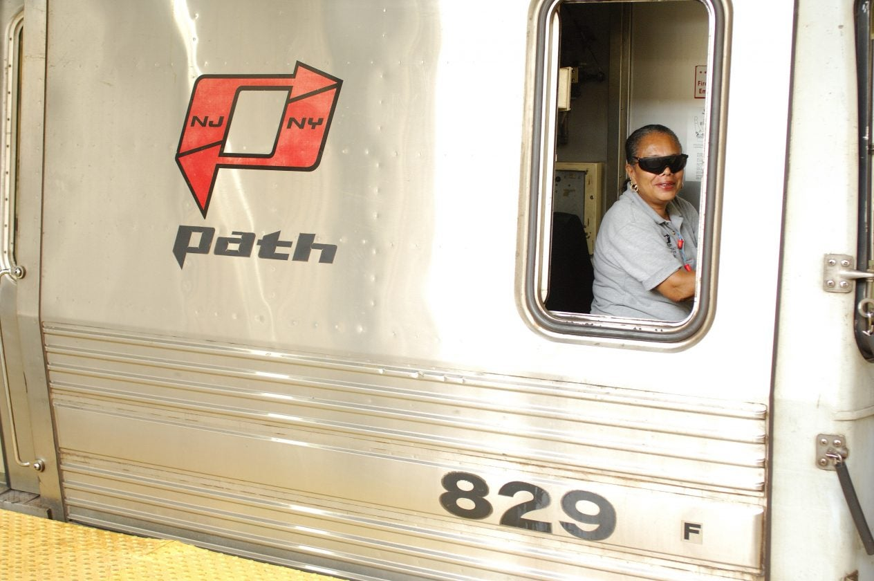PATH engineers at work - Newark, New Jersey